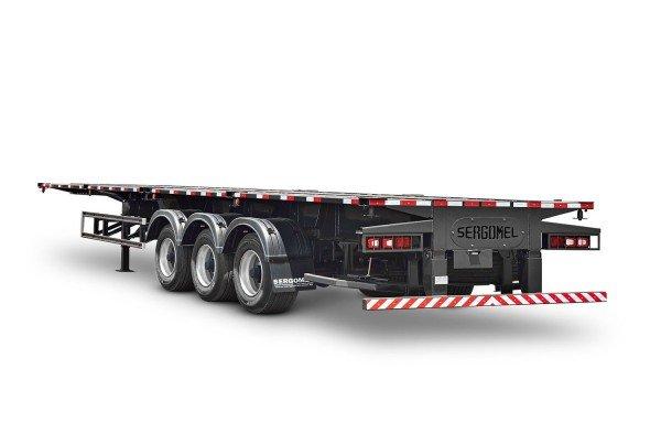 Semirreboque para Container de 20 pés ou 40 pés